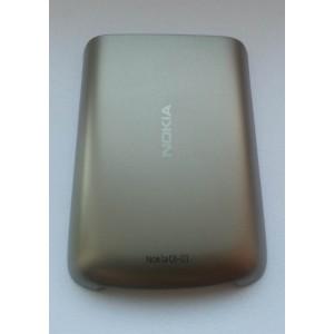 Батареечная крышка для Nokia C6-01 золото оригинал (0258069)