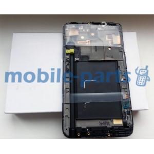 Дисплей в сборе с сенсором для Samsung GT-N7000 Galaxy Note черный (GH97-12948A)