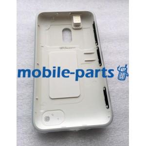 Задняя крышка для Nokia Lumia 620 белая оригинальная (02500S8)