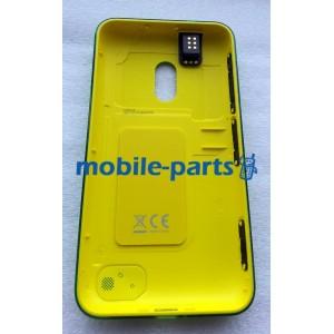 Задняя крышка для Nokia Lumia 620 зеленая оригинальная (02501C8)