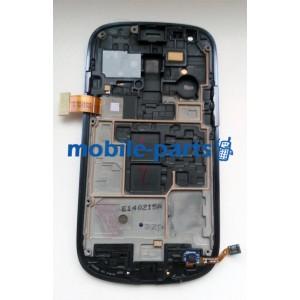 Дисплей с сенсором для Samsung GT-I8190 Galaxy S3 Mini синий оригинал