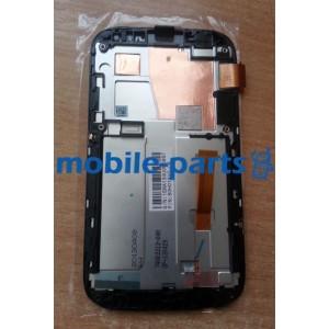 Дисплей с сенсором для HTC Desire V T328w Black оригинал (4710937381009)
