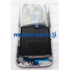 Дисплей в сборе с сенсорным экраном для Samsung I9500 Galaxy S4 белый оригинал