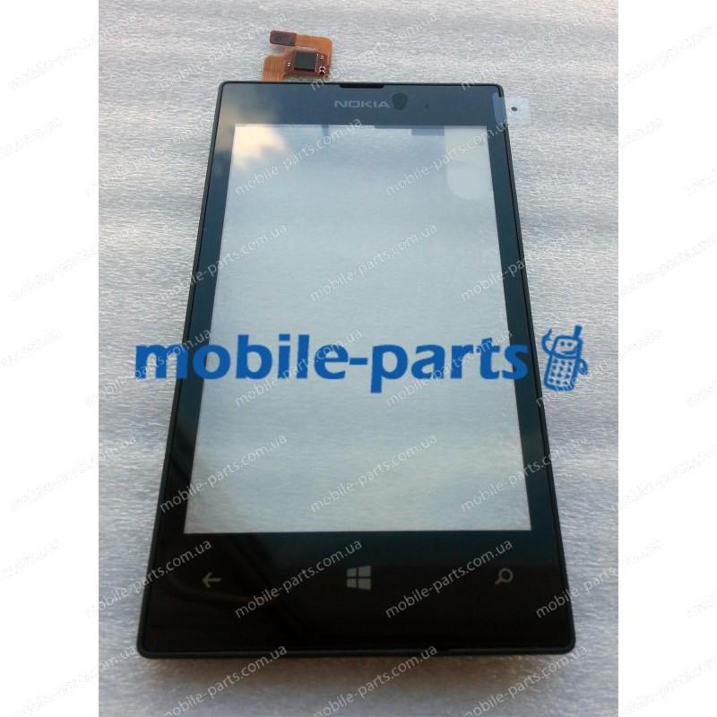 Сенсорный экран(тачскрин) для Nokia Lumia 520, Lumia 525 оригинал