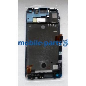 Дисплей в сборе с сенсорным экраном для HTC One 801e серебро оригинал