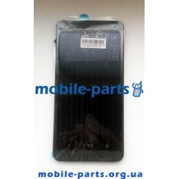 Дисплей в сборе с сенсорным экраном для HTC One 801e черный оригинал