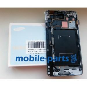 Дисплей с сенсором для Samsung N9000, N900 Galaxy Note 3 белый оригинал