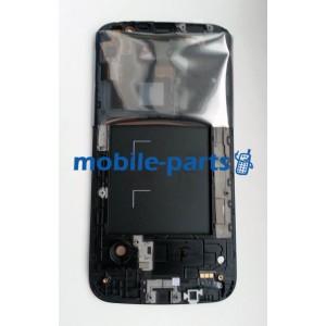 Дисплей в сборе с тачскрином для Samsung I9152 Galaxy Mega 5.8 белый оригинал