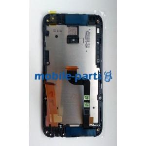 Дисплей в сборе c сенсорным экраном(тачскрином) для HTC Desire 601 черный оригинал