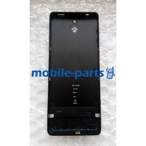 Задняя крышка для Nokia 515 металлическая черная