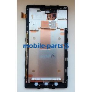 Дисплей в сборе с сенсорным экраном для Nokia Lumia 1520 оригинал