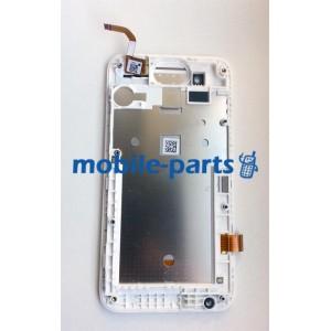 Дисплейный модуль(сборка дисплея и тачскрина) для HTC Desire 210 Dual Sim White оригинал