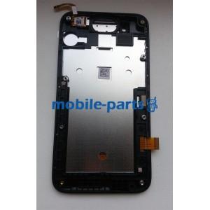 Дисплейный модуль(сборка дисплея и тачскрина) для HTC Desire 210 Dual Sim Black оригинал