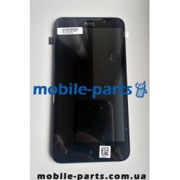Дисплей в сборе с сенсором (тачскрином) HTC Desire 516 Dual Sim черный оригинал