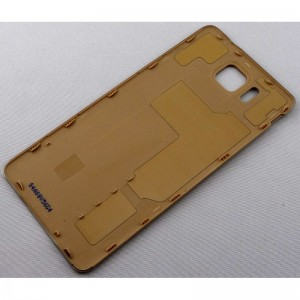 Задняя крышка для Samsung G850F Galaxy Alpha Gold оригинал