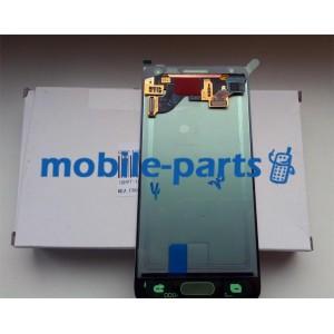 Дисплей в сборе с сенсорным экраном для Samsung G850F Galaxy Alpha белый оригинал