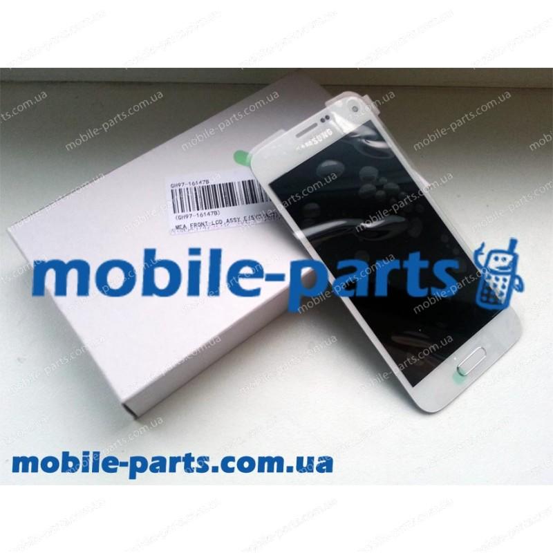 Дисплей в сборе с сенсорным стеклом (тачскрином) для Samsung G800H Galaxy S5 Mini White