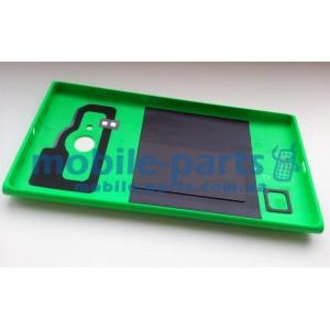 Задняя крышка для Nokia Lumia 730 Dual Sim зеленая оригинал