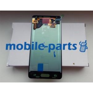 Дисплей в сборе с сенсорным экраном для Samsung G850F Galaxy Alpha золотой оригинал