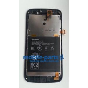 Дисплей с передней панелью и тачскрином для Lenovo A516 оригинал