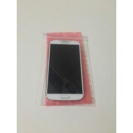 Дисплей в сборе с сенсорным экраном для Samsung I9500 Galaxy S4 белый оригинал НЕТ В НАЛИЧИИ