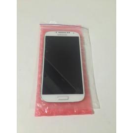 Дисплей в сборе с сенсорным экраном для Samsung I9500 Galaxy S4 белый оригинал б/у