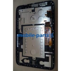 Дисплей в сборе с сенсорным экраном (тачскрином) для Lenovo A2107 IdeaTab белый оригинал