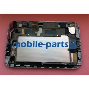 Дисплей (lcd) в сборе с сенсорным стеклом (тачскрином) и передней панелью (White) для Samsung N5110 Galaxy Note 8.0 (Wi-Fi)