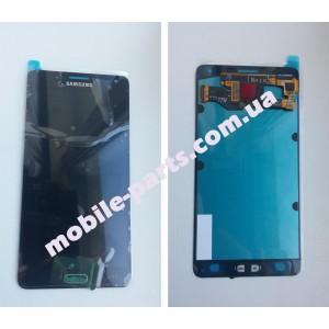 Дисплей в сборе с сенсорным экраном(тачскрином) для Samsung A700H Galaxy A7 Duos черный оригинал