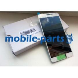 Дисплей в сборе с сенсорным экраном(тачскрином) для Samsung A700H Galaxy A7 Duos белый оригинал