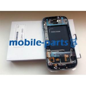 Дисплей в сборе с сенсорм (тачскрином) для Samsung I9300i Galaxy S3 Neo Duos белый оригнал