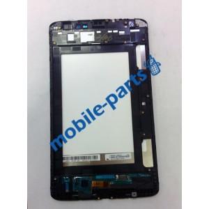 Дисплей (lcd) в сборе с сенсорным стеклом (тачскрином) и передней панелью (Black) для LG V500 G Pad 8.3