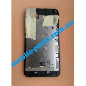 Дисплей (lcd) в сборе с сенсорным стеклом (тачскрином) для Prestigio MultiPhone 5400 Duo Black