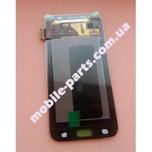 Дисплей в сборе с сенсорным экраном(тачскрином) для Samsung G920 Galaxy S6 Black оригинал