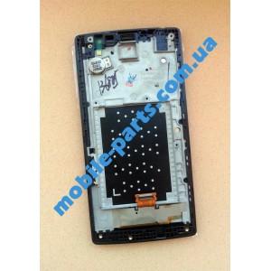 Дисплейный модуль (сборка дисплея и тачскрина) для LG H422 Spirit Titan оригинал