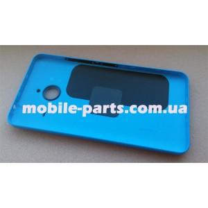 Задняя крышка для Microsoft Lumia 640 XL голубая оригинал