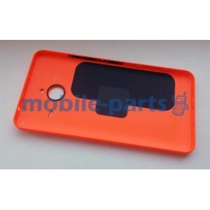 Задняя крышка для Microsoft Lumia 640 XL оранжевая оригинал