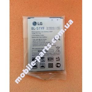 Оригинальный аккумулятор BL-51YF для LG G4 H818P Dual, H540F G4 Stylus Dual , X190 Ray