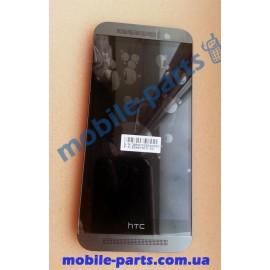 Дисплей с передней панелью и сенсором(тачскрином) для HTC One M9 Gunmetal Gray оригинал