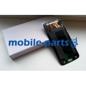Дисплей в сборе с сенсорным экраном(тачскрином) для Samsung G920 Galaxy S6 Blue оригинал