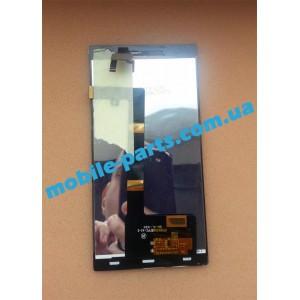 Дисплейный модуль (сборка дисплея и тачскрина) для Prestigio MultiPhone 5505 Duo оригинал