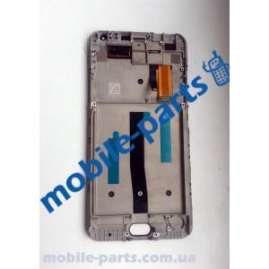 Дисплей в сборе с сенсорным экраном (тачскрином) для Meizu M2 Note Black оригинал