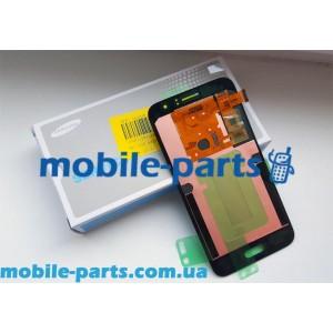 Дисплей Super AMOLED в сборе с сенсорным стеклом (тачскрином) для Samsung Galaxy J1 2016 Duos SM-J120 Gold оригинал