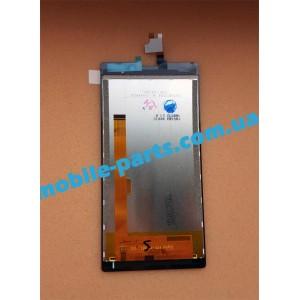 Дисплей (lcd) в сборе с сенсорным стеклом (тачскрином) для Nomi i508 Energy Graphit оригинал