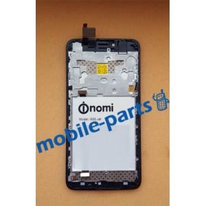 Дисплейный модуль (сборка дисплея и тачскрина) для Nomi i505 Jet Black оригинал