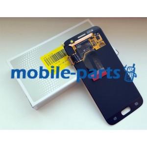 Дисплей Super AMOLED в сборе с сенсорным стеклом (тачскрином) для Samsung Galaxy S7 G930F Silver оригинал