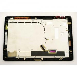 Дисплей в сборе с передней панелью и сенсором для Acer Iconia Tab A500, 501 Black оригинал