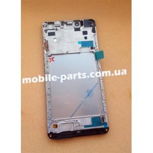 Дисплей в сборе с передней панелью и сенсором для Prestigio MultiPhone 3531 Muze E3 Black оригинал