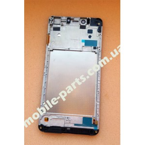 Дисплей в сборе с передней панелью и сенсором для Prestigio MultiPhone 3531 Muze E3 Grey оригинал