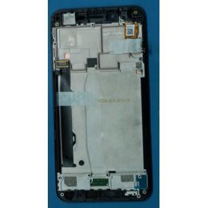 Дисплей в сборе с передней панелью и сенсором для Lenovo Vibe K5 Black оригинал